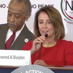 Pelosi: 'Reverend Sharpton, Thank You for Saving America'