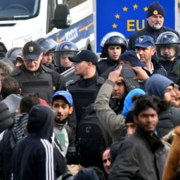 Report: 20,000 Migrants 'Almost All Armed with Knives' To Cross Europe's External Border