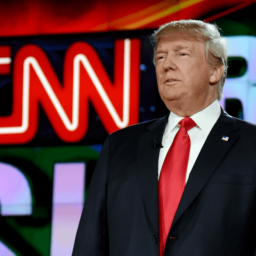 Trump Rips CNN's 'Fake Suppression Polls' and 'Low' Ratings
