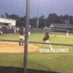 WATCH: Catcher Tags Batter Out, Batter Hits Catcher with Bat