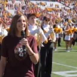 Watch: Senate Candidate Martha McSally Sings National Anthem for ASU Homecoming Game