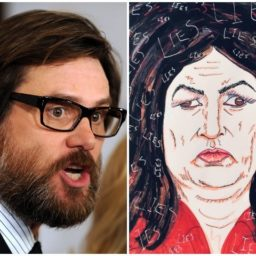 Jim Carrey: 'Gorgon' Sarah Sanders will 'Turn Your Heart to Stone' With Lies