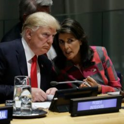 Nikki Haley: Trump and I 'Partnered' to Use Unpredictability to Get Things Done
