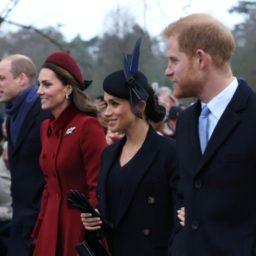 Pictures: Royals Walk Out For Christmas Day Church Service