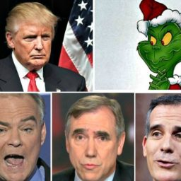 Three Democrats Who Called Trump 'The Grinch' During Wall Shutdown Fight