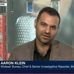 Watch – Aaron Klein: Iran's Fingerprints Likely on West Bank Terrorist Attacks