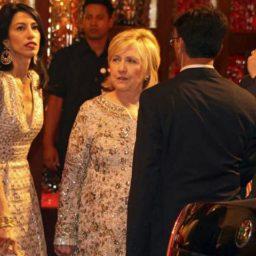 WATCH: Hillary Clinton, John Kerry Attend $100 Million Wedding