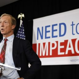 2020: Tom Steyer Vows to Hold Dems 'Accountable' on Impeachment
