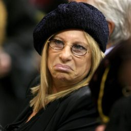 Barbra Streisand: Trump Border Wall an Immoral 'Monument to Himself'