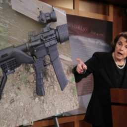 Dianne Feinstein Pushes Ban on Devices that Increase Pistol Accuracy