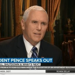 Pence: Trump 'Considering' National Emergency Declaration – Americans Expect Us to 'Work Together' on Border