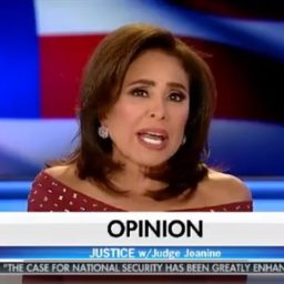 Pirro: Mueller's 'Gestapo' Tactics Arresting Roger Stone Intended to 'Poison the Jury Pool'