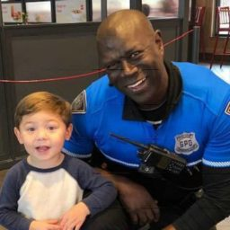 South Carolina Police Officer Befriends Boy Who Thanks Him at Chick-fil-A