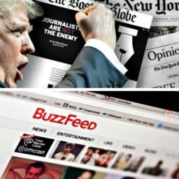Trump Allies Celebrate Disintegration of BuzzFeed's Fake News Hit