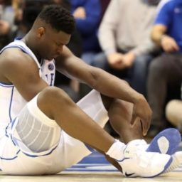 Nike Stock Falls After Zion Williamson Shoe Blowout, Injury