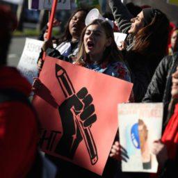#RedforEd: Oakland Teachers Begin Strike for 12% Raise over 3 Years