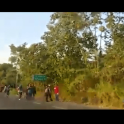 VIDEO: Immigration Authorities in Southern Mexico Attacked by Migrant Caravan