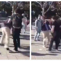 Watch: Conservative Activist Attacked at UC Berkeley