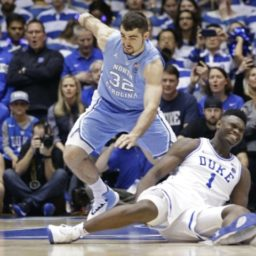 WATCH: Duke Star Williamson Sprains Knee After Nike Shoe Blows Out
