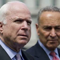Chuck Schumer Resumes Effort to Rename Senate Office Building after John McCain