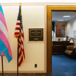 Democrats Dump POW/MIA Flags for Gay Pride Flags Outside D.C. Offices