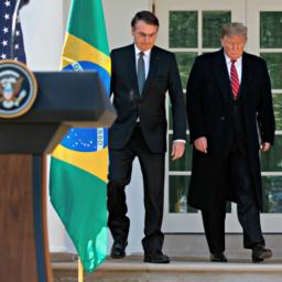 Donald Trump 'Proud' to Hear Brazilian President Challenge 'Fake News'