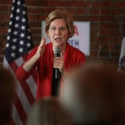 Elizabeth Warren Says 'Boo-Hoo' to Critics of Her Plan to Break Up Facebook, Amazon, Google