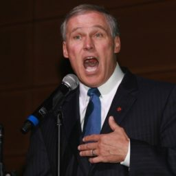 Inslee: Combating Climate Change Foremost Duty of the Next President Because the 'World's on Fire'