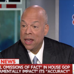 Jeh Johnson on the Border: 'We Are Truly in a Crisis'