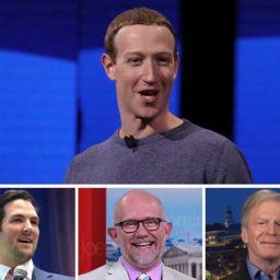 Conservatives Express Support for Facebook Censorship