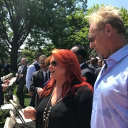Country Star Wynonna Judd Working with Trump White House on Criminal Justice Reform