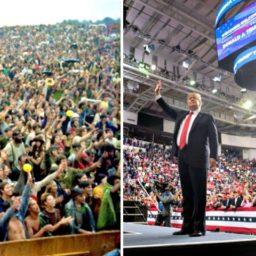 Kirk: Trump Rallies the Modern Woodstock