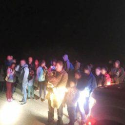 Large Group of 231 Migrants Apprehended at Arizona Border