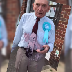 Police Investigate Polling Station Milkshake Attack on Elderly Veteran Wearing Brexit Party Rosette
