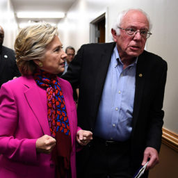 Hillary Clinton Calls Bernie Sanders a Sore Loser: 'He'll Burn the Place Down'