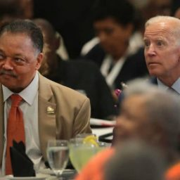Joe Biden Defends Civil Rights Record in Surprise Appearance with Jesse Jackson