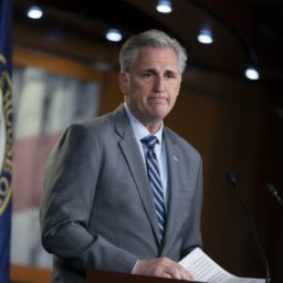Kevin McCarthy to Ocasio-Cortez: End Migrant Crisis by Building the Wall