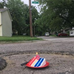 Man Celebrates Pothole's Birthday: 'He Seemed Thrilled with the Idea'