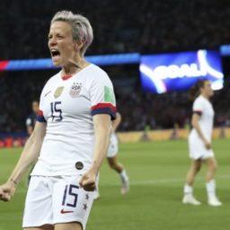 Rapinoe Scores 2 Goals As US Eliminates France 2-1