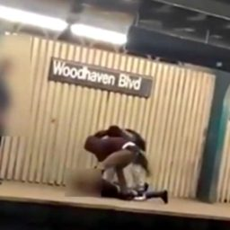VIDEO: Two Teens Stomp on Victim's Head on NYC Subway Platform