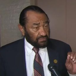 Al Green Calls for Trump's Impeachment — 'This Is About Bigotry and Racism'
