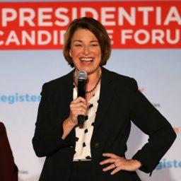 Democrat Amy Klobuchar: 'We All Stand on the Shoulders of Immigrants'