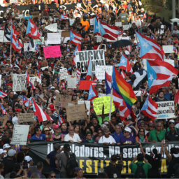 Fed-up Puerto Ricans March Demanding Governor Ricardo Rossello Resign