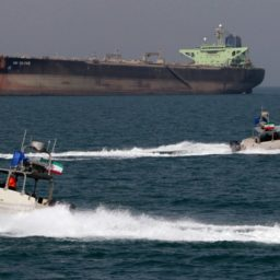 Iran Claims Revolutionary Guard Seize Foreign Oil Tanker, Crew