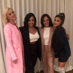 Kamala Harris Parties with Katy Perry, Ariana Grande at Star Studded Hollywood Fundraiser
