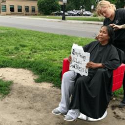 Minnesota Hair Stylist Brings Mobile Salon to the Homeless