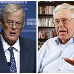 Plutocrat Koch Brothers, Chamber of Commerce Lobby for Big Tech's Green Card Giveaway
