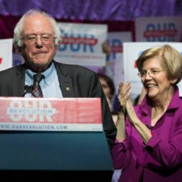 Poll: Far-Left Progressives Choosing Sanders and Warren