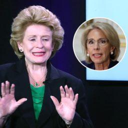 Sen. Debbie Stabenow Rips Betsy DeVos: 'We Should Send Her Back'