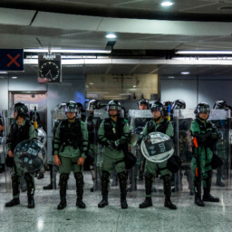 Hundreds Swarm Hong Kong Court to Support Protesters Accused of Rioting